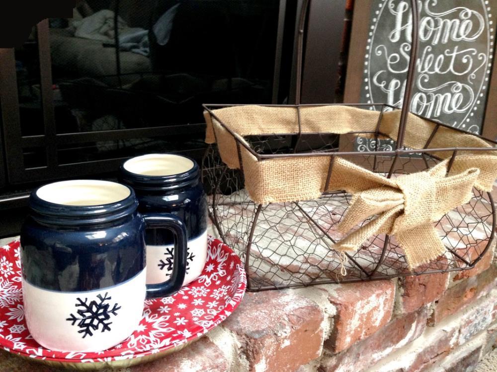 Winter Gift Ideas - Indoor Picnic Basket
