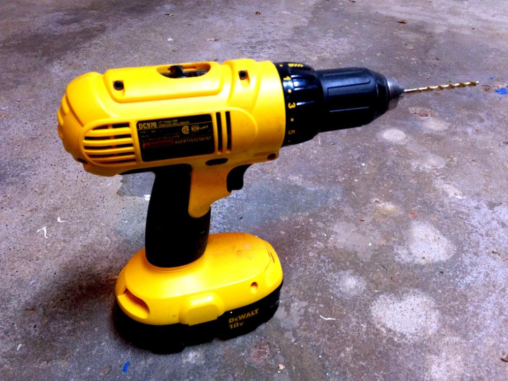 12 Must-Have Tools for DIYers - Cordless Drill