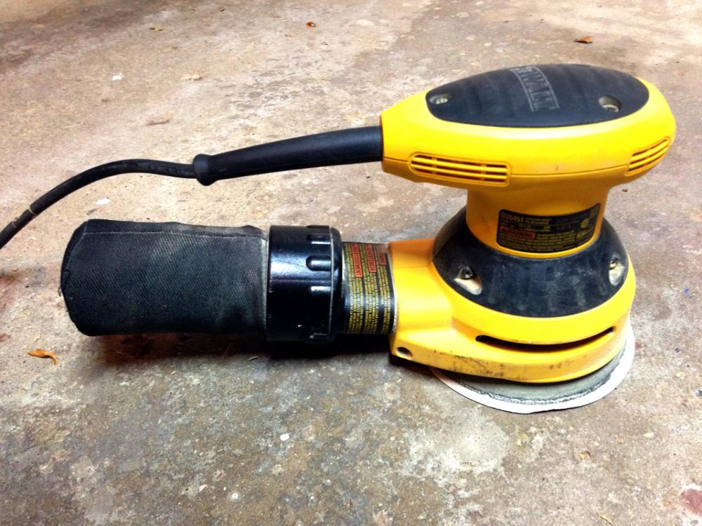 12 Must-Have Tools for DIYers - Random Orbital Sander