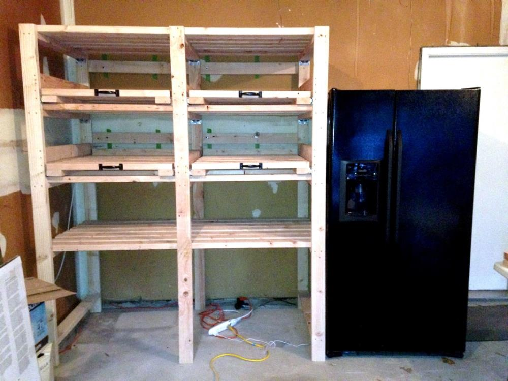 Garage Storage Shelves - Easy Tutorial