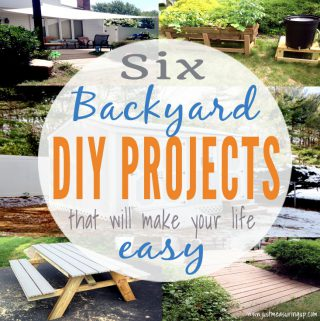 These 6 DIY Projects for your backyard will simplify your life