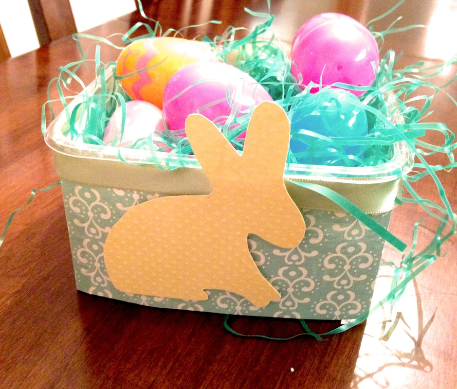 How to Make a DIY Easter Basket or Bucket from Recycled Containers