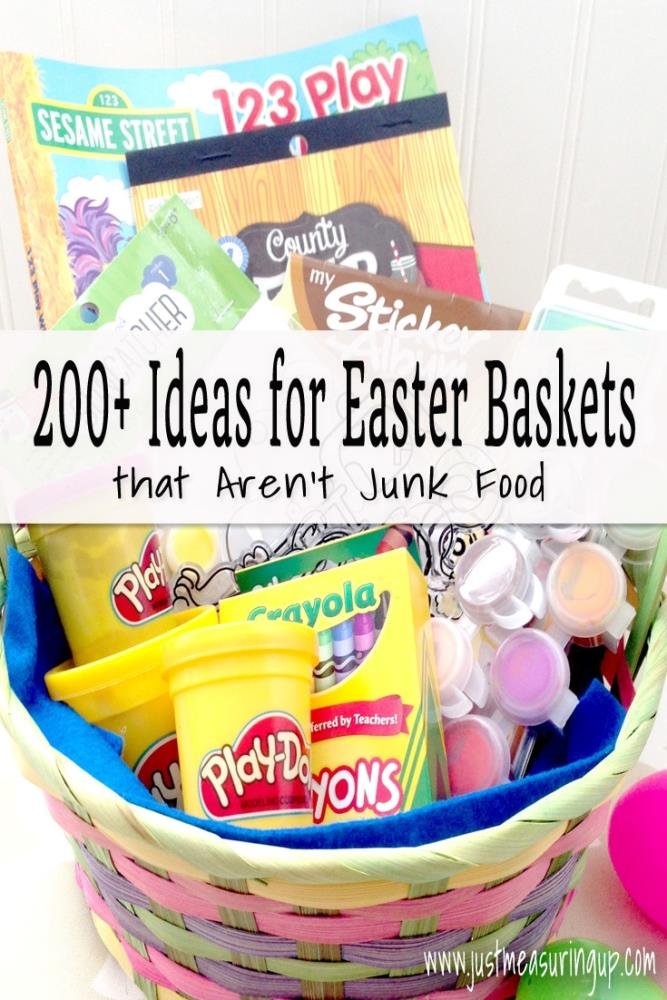 200 ideas for candy free easter baskets that kids and adults will love for kids who love the outdoors negle Image collections