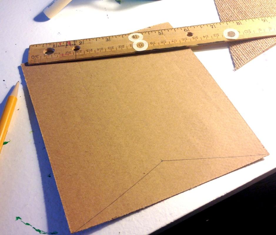 How to Make a DIY Burlap Banner - Easy Tutorial