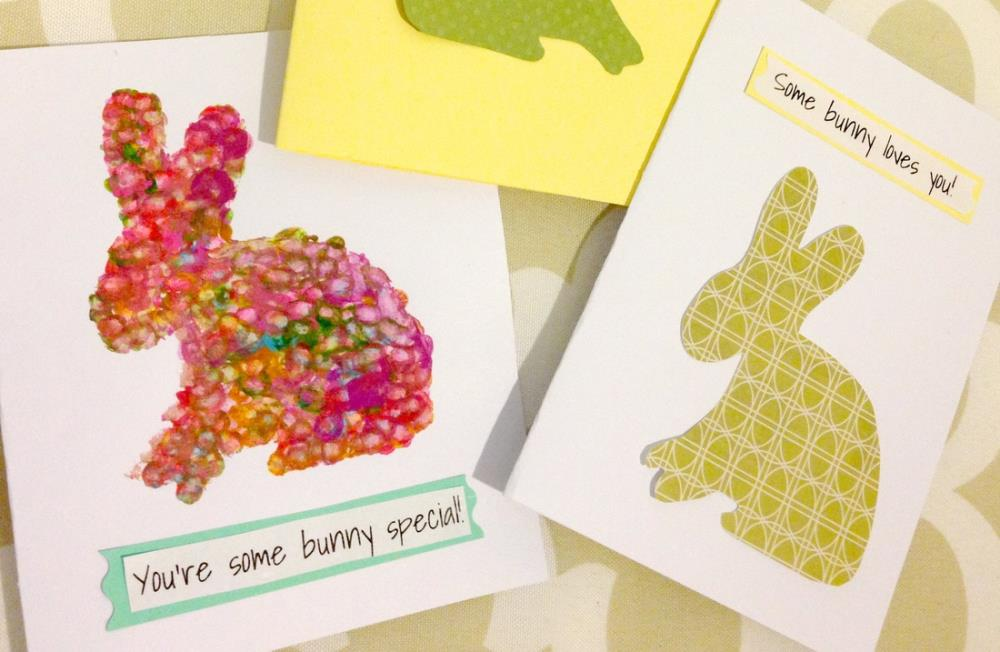 Making Homemade Easter Cards - Plus, 12 Simple Easter Crafts with Free Printable