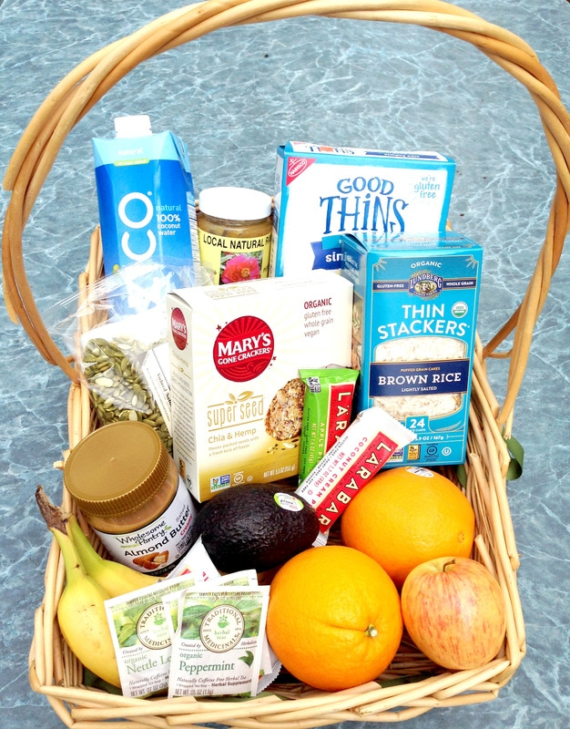 Healthy Living Gift Basket - Gift Basket Ideas that Aren't Junk
