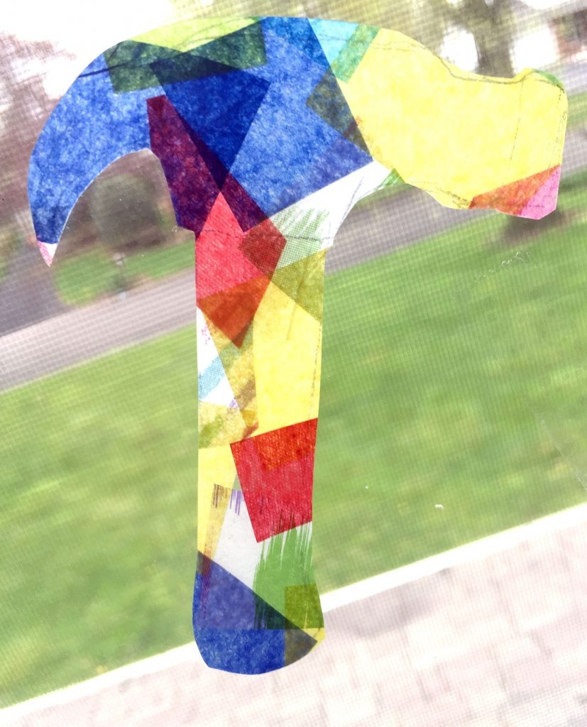 How to Make Tissue Paper Suncatchers - Easy Kids Craft