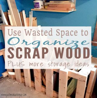 How to Make a Scrap Wood Bin for Garage Storage