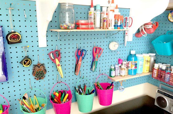 DIY Craft Room Storage - Lots of Ideas!