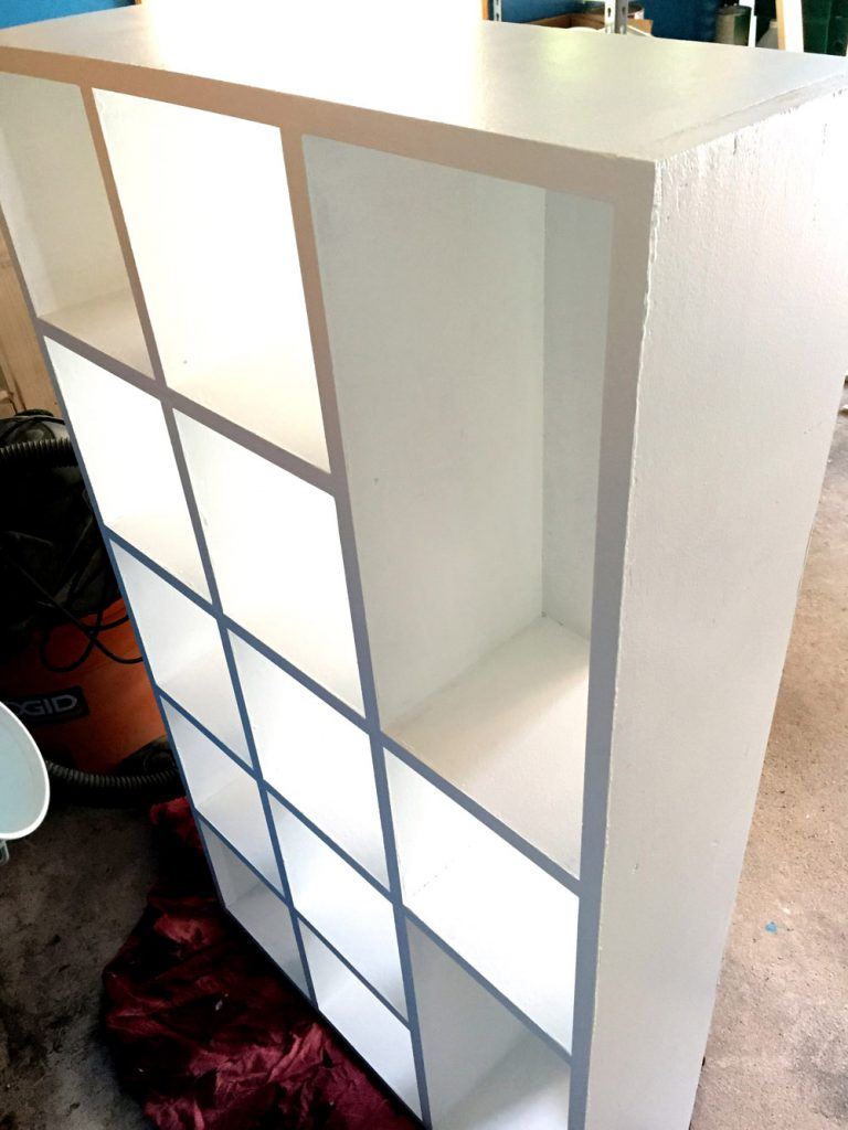 Building DIY Cubby Shelves for Craft Room Storage Makeover