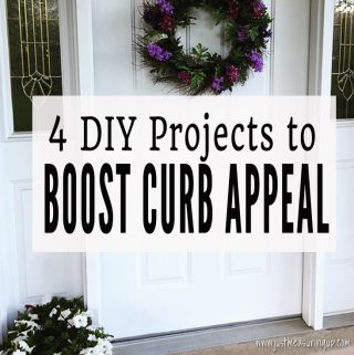 Increase your home's curb appeal with these 4 DIY projects.