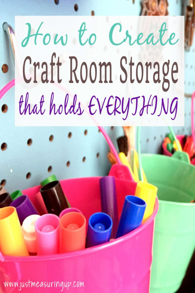 Free Plans! Making Extra Storage Space with Shelves, Cubbies and Pegboard