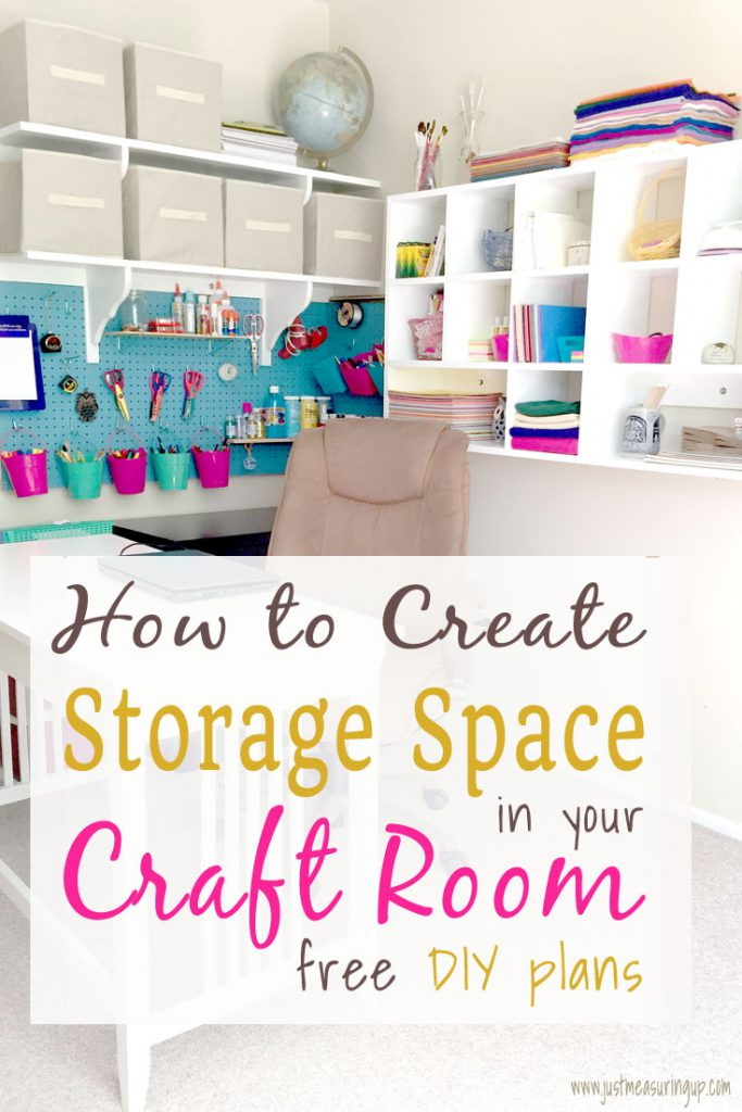 Free plans - Awesome DIY ideas that create new storage space!