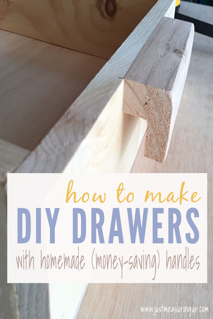 Build Basic Pull-Out Drawers with this easy tutorial