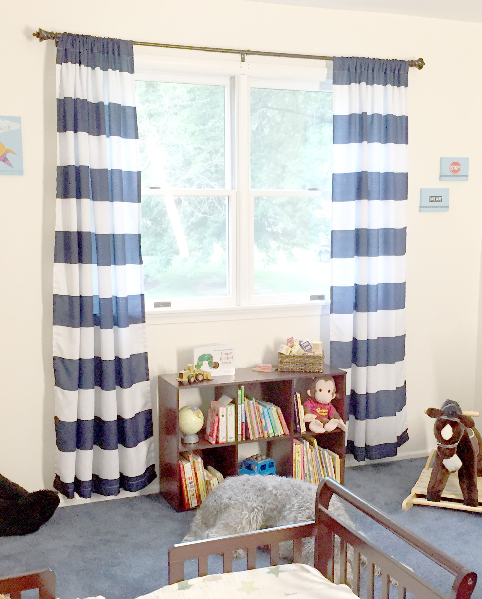 Turning a Guest Room into a Toddler Room