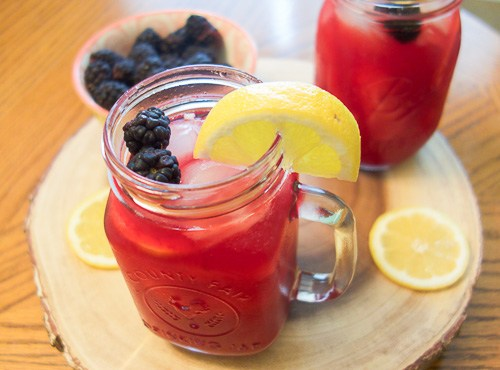 Easy Blackberry Lemonade Recipe