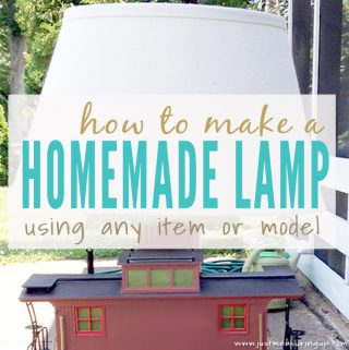 How to Make a Lamp with this Easy DIY Tutorial
