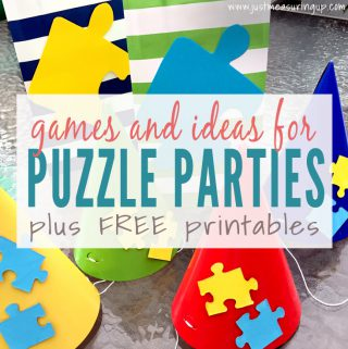 Throwing an Amazing Puzzle Theme Party