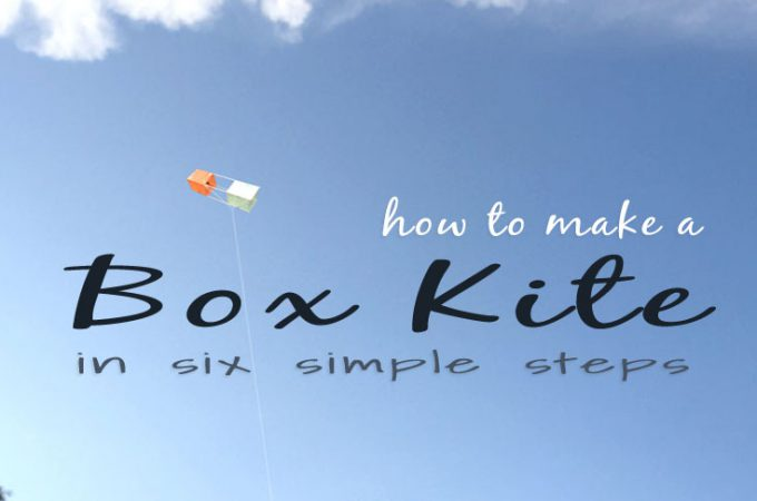How to Make a Box Kite - Easy Tutorial