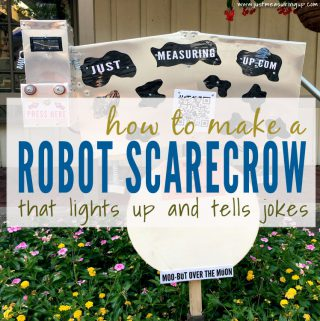 How to Make an Amazing Robot Scarecrow