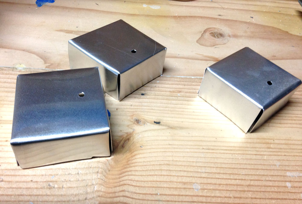 How to Make Robot Feet from Sheet Metal