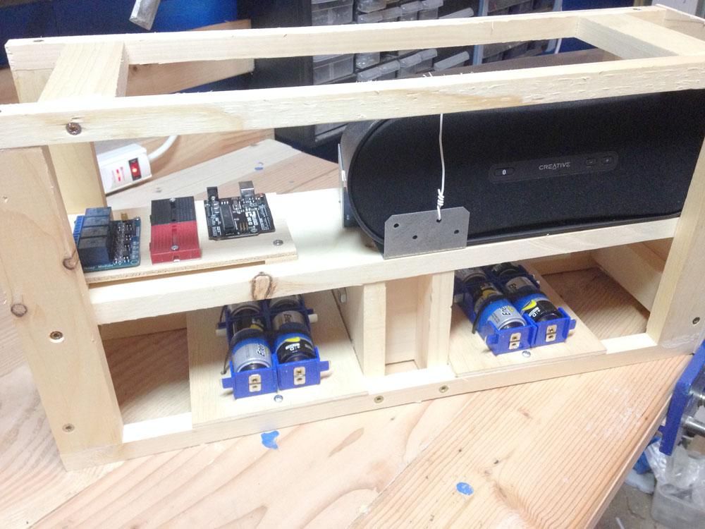 Making a Robot - Internal Components
