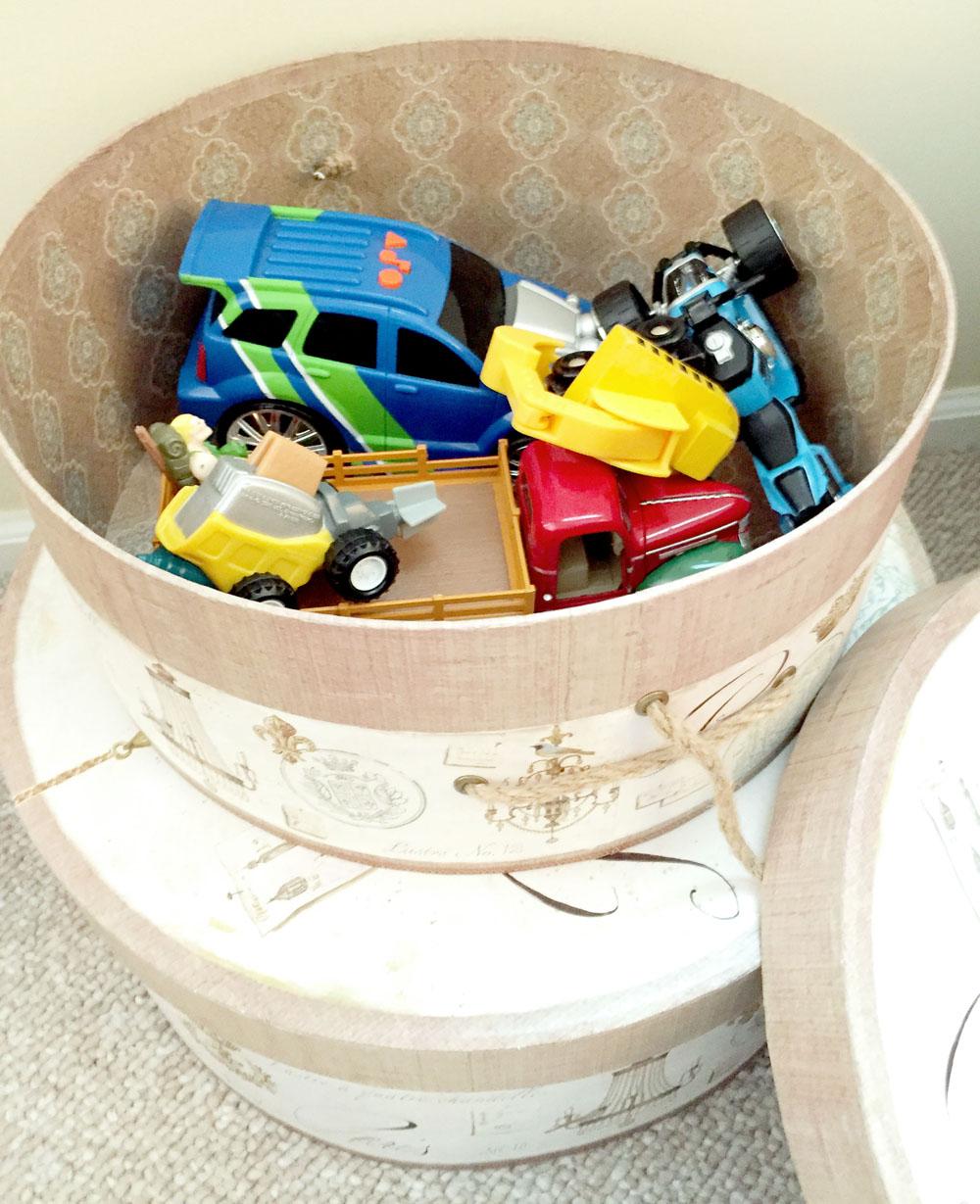 DIY Home Organization - Hidden Toy Storage Ideas