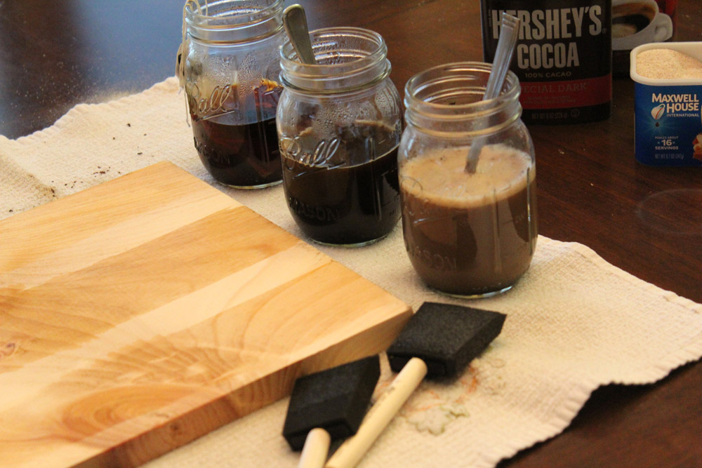 How to Make your own Wood Stain