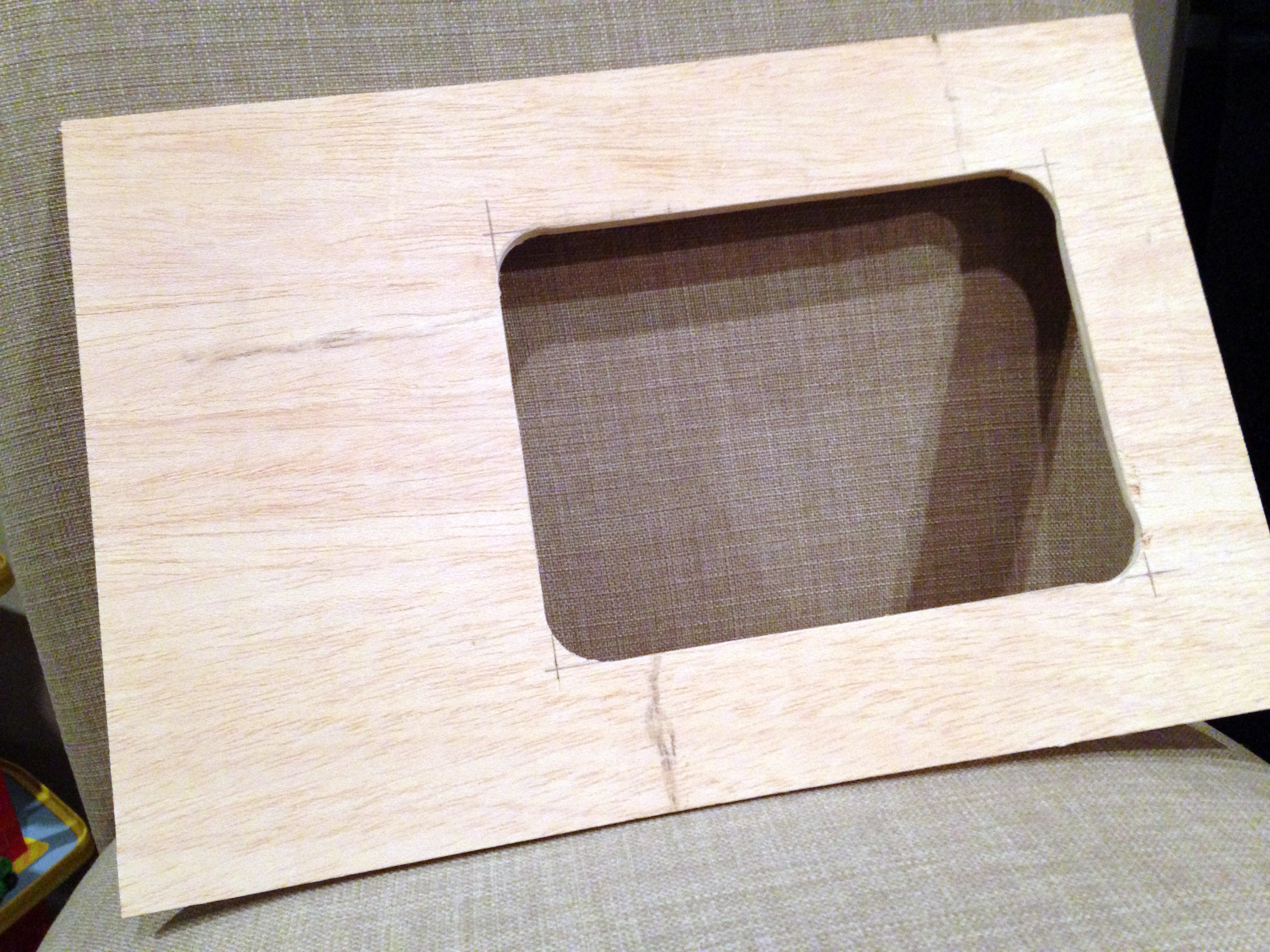 Making a plexiglass cover for a wooden computer case