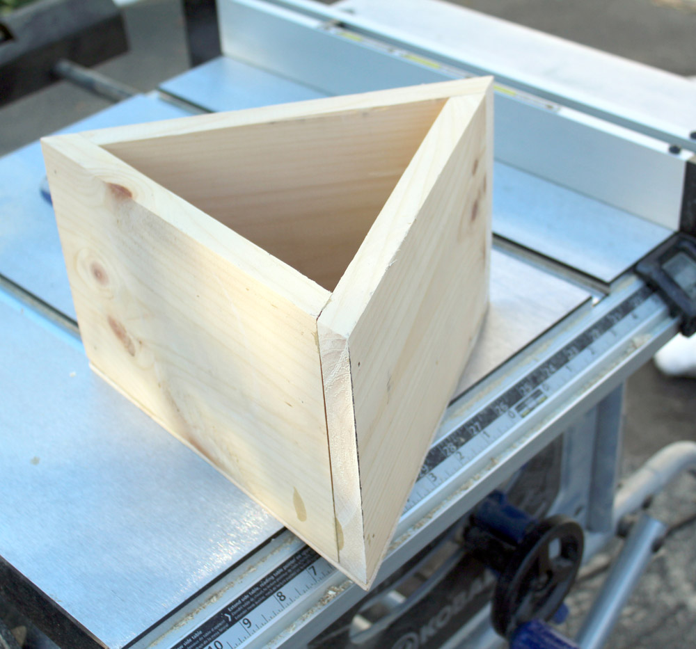 How to Make a DIY Wooden Planter Box in Geometric Shapes