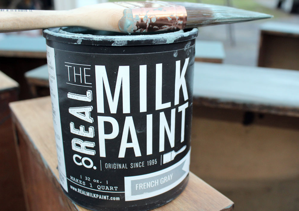 French Gray Milk Paint from The Real Milk Paint Company