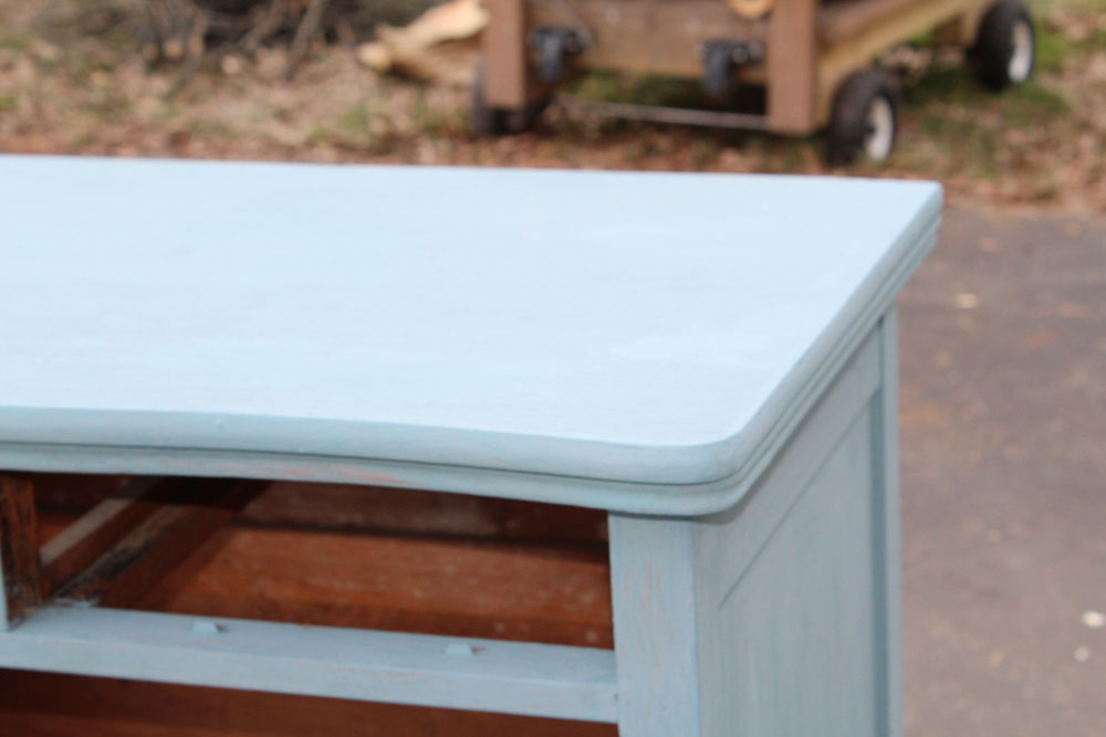 Painting An Old Dresser With French Gray Milk Paint