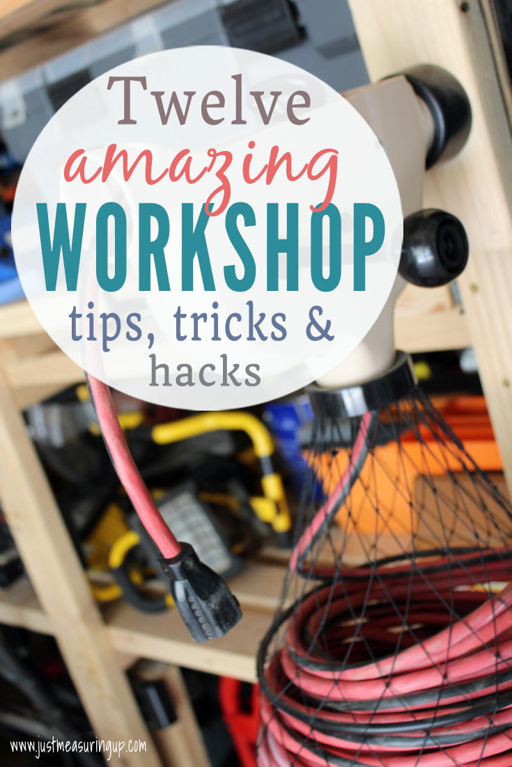 12 Awesome Workshop and Garage Organization Tips and Tricks