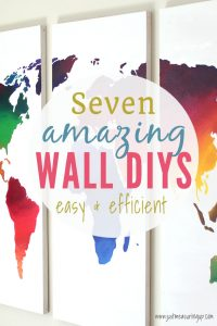 Create simple DIYs for your Walls