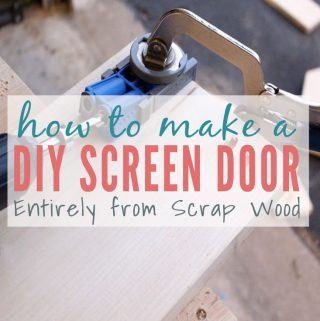 How to Build a DIY Screen Door