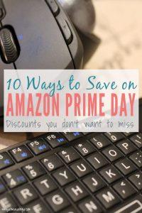 Ways to Save Money Amazon Prime Day