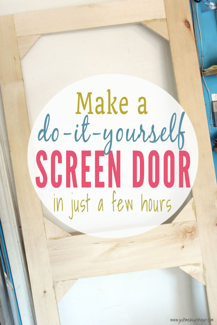 DIY screen door for your home