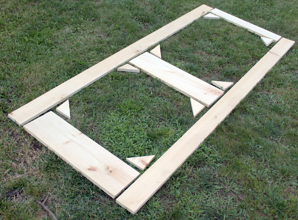 How To Build A Diy Screen Door From Scrap Wood Easy Diy