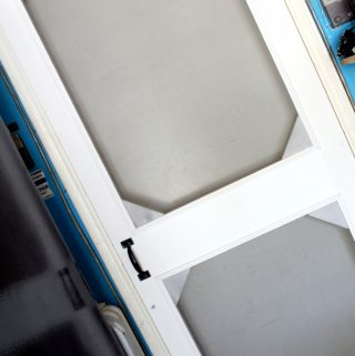How to make a wooden screen door instructions