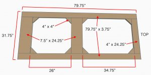 Dimensions for making a custom screen door from scratch