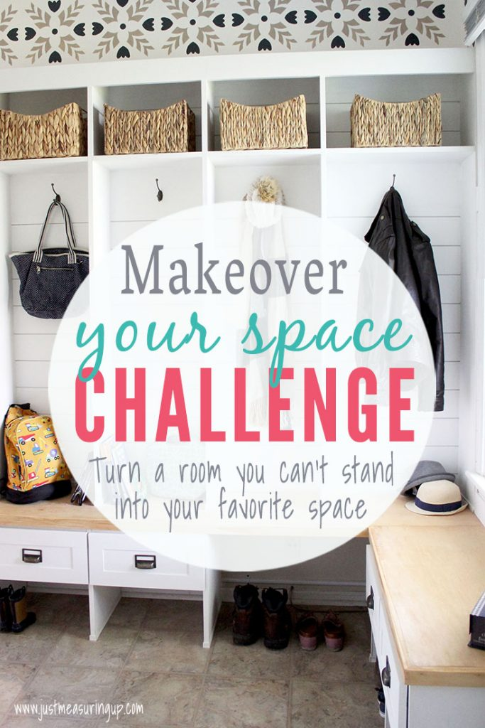 Mudroom makeover with cubby storage, drawers, and lockers