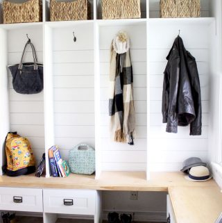 How to Build an Entryway Bench with Hooks and Storage