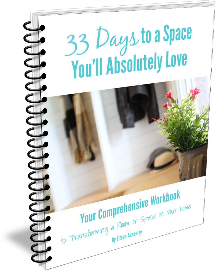 33 Days to a Space You'll Love Workbook