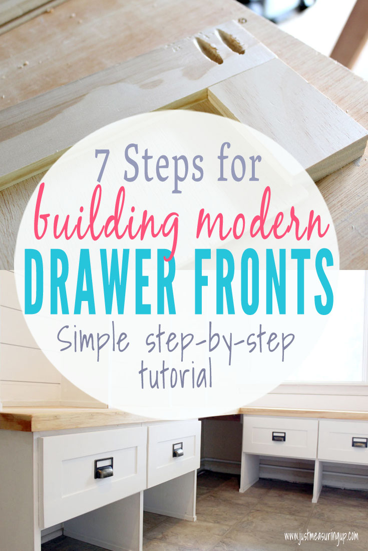 Entryway Piece With Shaker Style Drawers