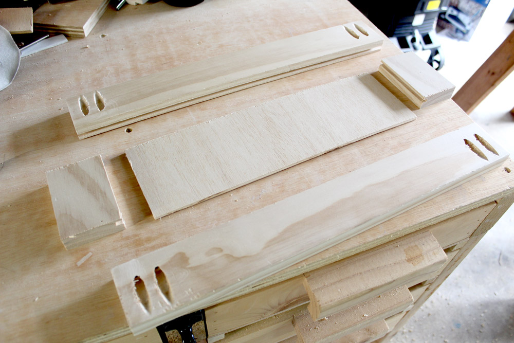 Using pocket holes to build Amish-style DIY drawer fronts