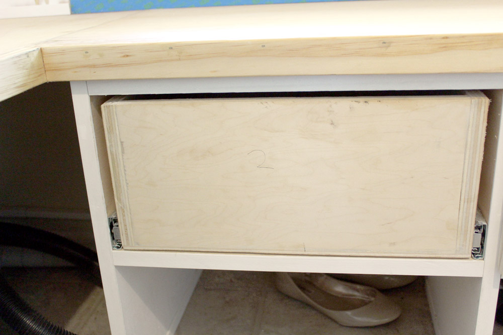 Attaching drawer front to drawers - tips and tricks