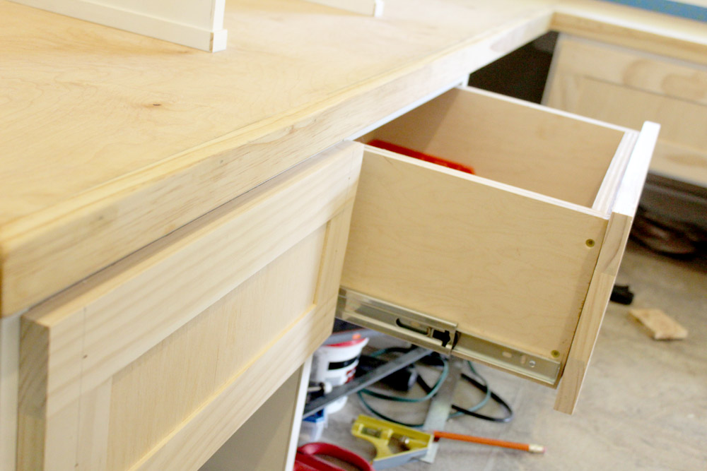 Building your own raised panel drawer fronts