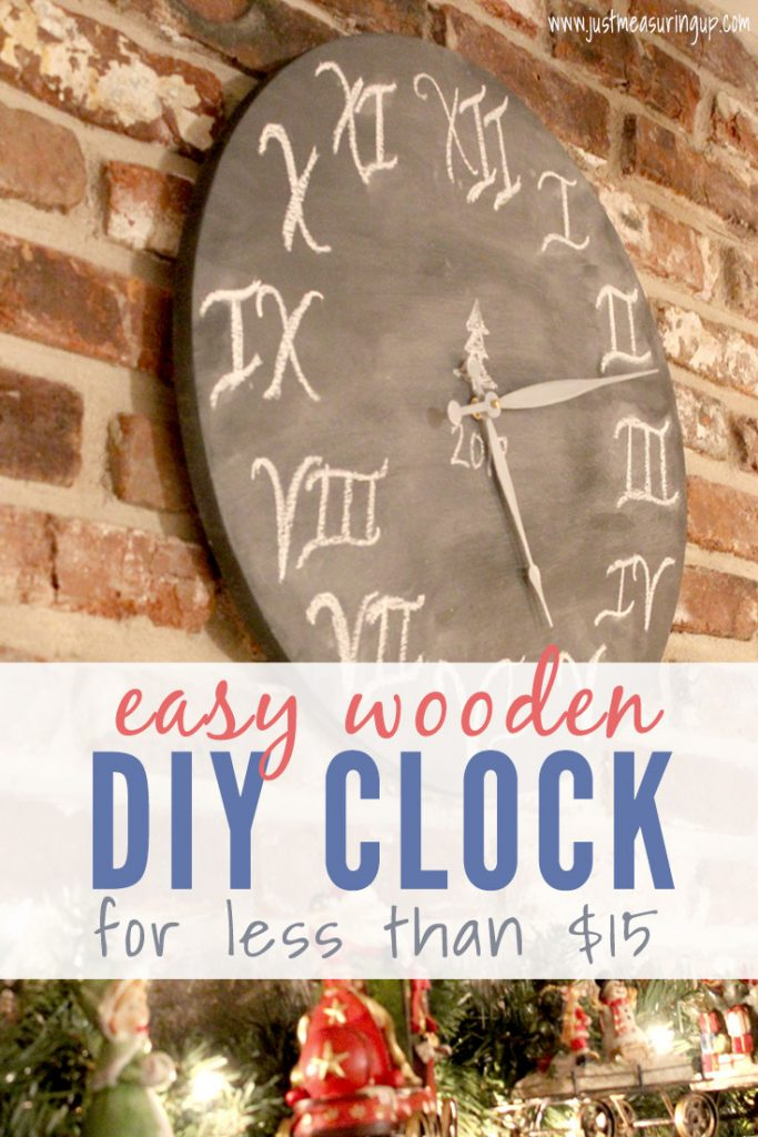 DIY Wooden Wall Clock
