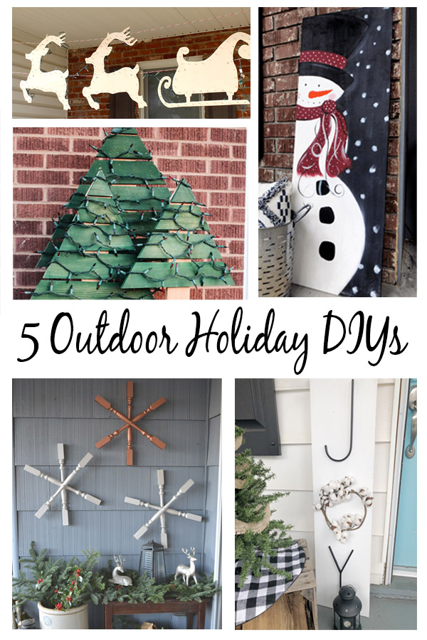 5 Outdoor Christmas Decorations That You Can Diy Simple