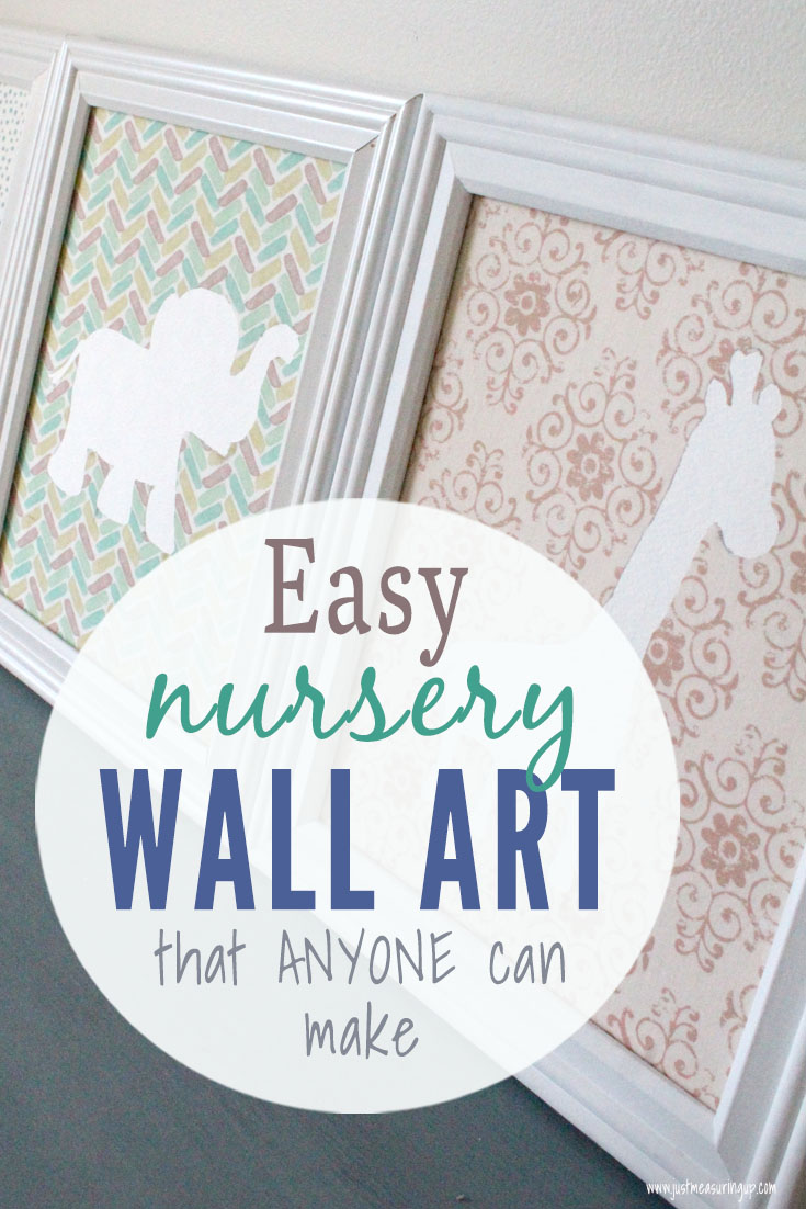 Baby animal DIY prints for the nursery decor